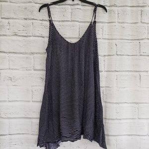 Elan swimsuit cover up striped